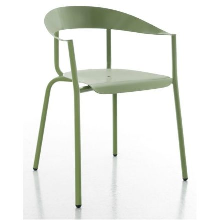 "Gartenstuhl ""Alu Mito"" von Conmoto, Aluminium blassgrün"