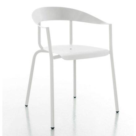 """Gartenstuhl """"Alu Mito"""" von Conmoto, Aluminium weiß"""