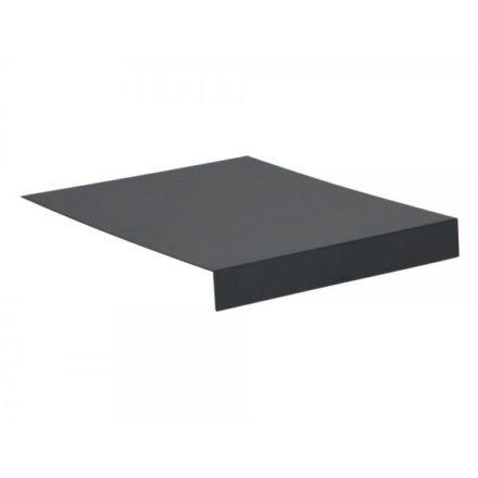 Stern Tablett L-Form, Aluminium anthrazit