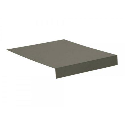 Stern Tablett L-Form, Aluminium taupe
