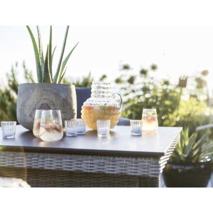 "Kettler HKS ""Palma Modular"" Casual Dining-Tisch, Polyrattan white-wash"