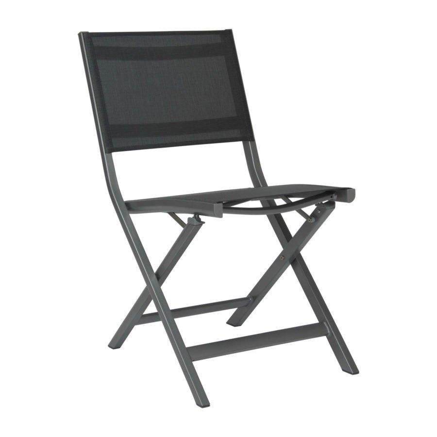 stern gartenm bel set mit stuhl joe und bistrotisch aluminium hpl. Black Bedroom Furniture Sets. Home Design Ideas