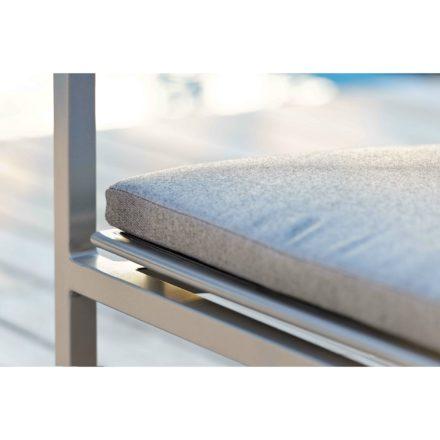 """Loungeserie """"Skelby"""" von Stern, Gestell Aluminium graphit, Textilenbezug silbergrau"""