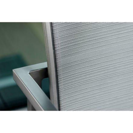 "Stern ""Skelby"" Loungeserie, Gestell Aluminium anthrazit, Textilenbezug karbon"