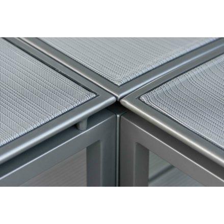 """Loungeserie """"Skelby"""" von Stern, Gestell Aluminium anthrazit, Textilenbezug karbon"""