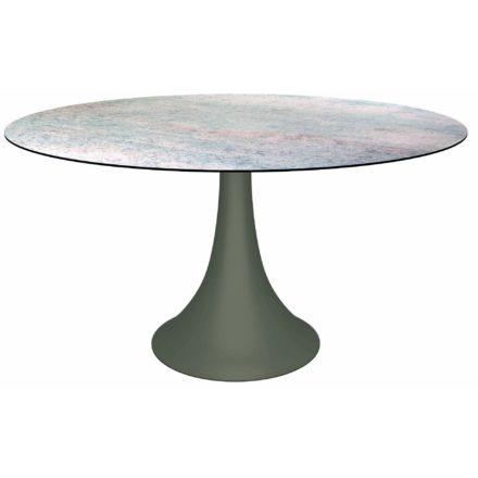 """Stern Gartentisch """"Ben"""", Gestell Aluminium taupe, Tischplatte HPL Smoky"""