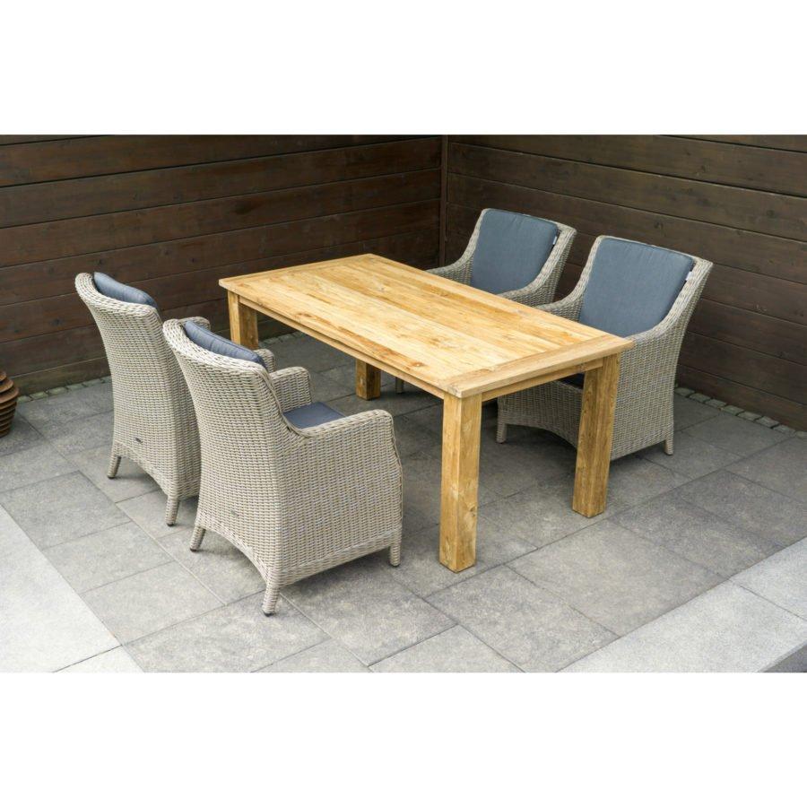 zebra oskar gartentisch. Black Bedroom Furniture Sets. Home Design Ideas