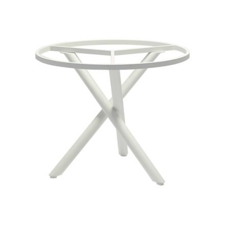 """Zebra Tischgestell """"Mikado"""", Aluminium weiß, Ø 90 cm für Tischplatten mit Ø 110 cm"""