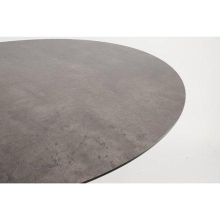 Zebra Tischplatte SELA HPL beton dunkel 110rd