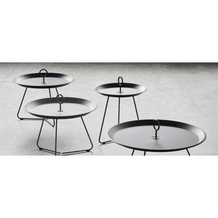"Tray Table ""Eyelet"", schwarz, von Houe"