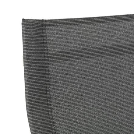 """Kettler """"Feel"""" Stapelsessel mit hoher Rueckenlehne, Textilgewebe grau-meliert"""