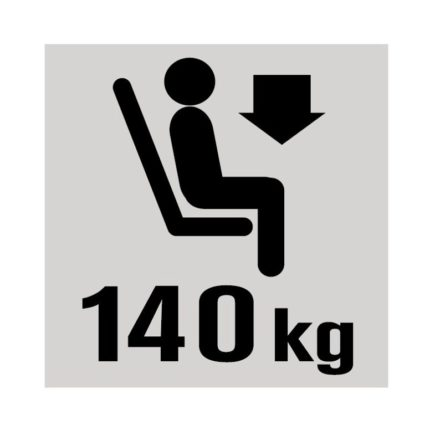 Lafuma - Gewichtsbelastung bis 140kg
