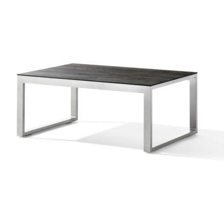 """Loungetisch """"Bastia"""" von Sieger, Aluminiumgestell graphit ,Tischplatte Polytec"""