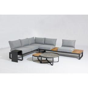 """Zebra """"Fly Lounge"""" Loungegruppe mit Loungetisch und Beistelltisch"""
