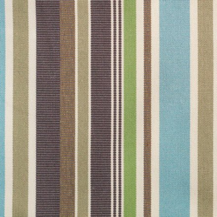 "Zebra ""Jack Lounge Junior"" Bezug aqua stripes"