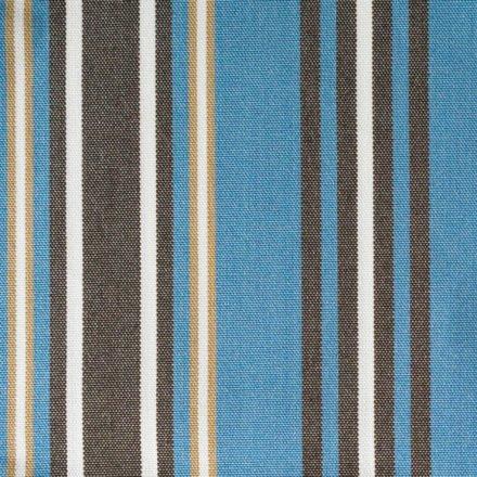 "Zebra ""Jack Lounge Junior"" Bezug blue stripes"