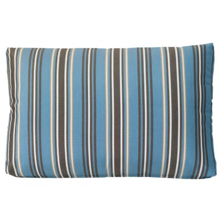 "Zebra ""Jack Lounge Junior"" Rückenkissen blue stripes"