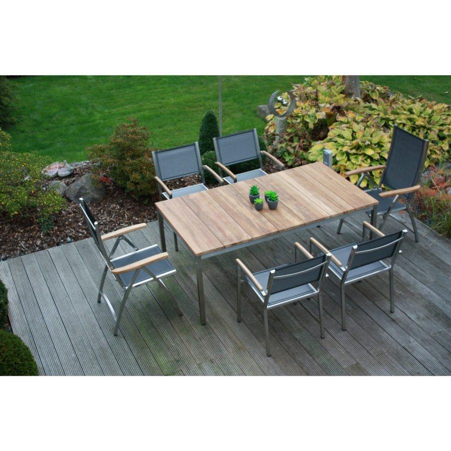 Zebra Gartenmöbel-Set, mit Stuhl \