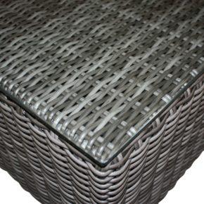 """Zebra """"Jack Lounge"""", taupe, Tischplatte aus Sicherheitsglas für Hocker"""