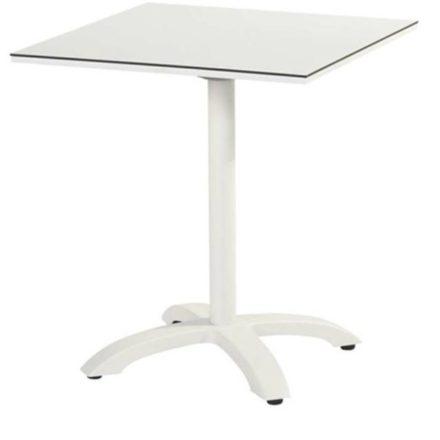 """Hartman Bistrotisch """"Sophie"""", Gestell Aluminium royal white, Tischplatte HPL white"""