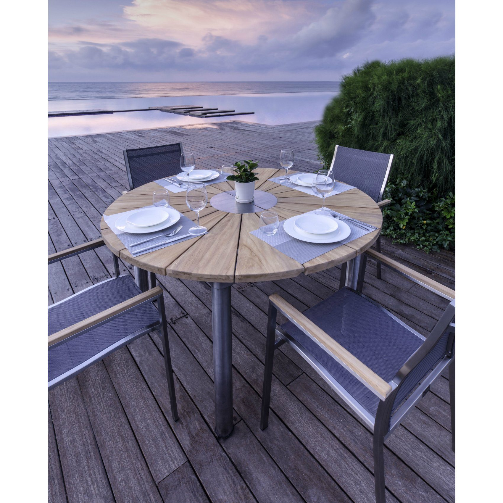 home islands ko tao gartentisch. Black Bedroom Furniture Sets. Home Design Ideas