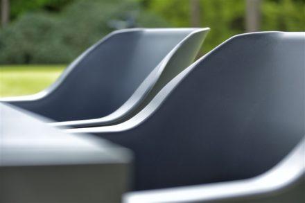 "Hartman ""Sophie Element"" Armchair,, Gestell Aluminium xerix, Sitzschale xerix"