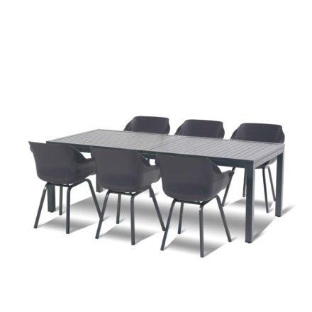 """Hartman """"Sophie Element"""" Armchair, Gestell Aluminium xerix, Sitzschale Kunststoff xerix"""