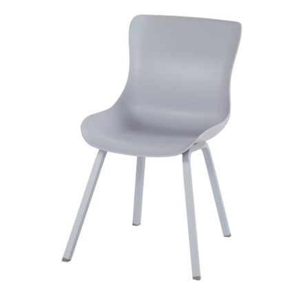"Hartman ""Sophie Element"" Dining Chair, Gestell Aluminium misty grey, Sitzschale misty grey"