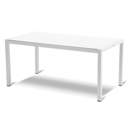 """Hartman """"Sophie Element"""" Gartentisch, Gestell Aluminium royal white, Tischplatte HPL white"""