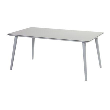"""Hartman """"Sophie Studio"""" Gartentisch, Gestell Aluminium mist grey, Tischplatte HPL misty grey Größe 170 x 100 cm"""