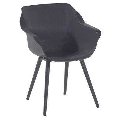 "Hartman ""Sophie Studio"" Armchair, Gestell Aluminium xerix, Sitzschale xerix"