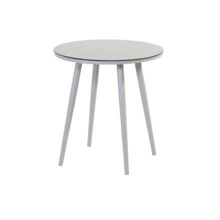 """Hartman """"Sophie Studio"""" Bistrotisch, Gestell Aluminium misty grey, Tischplatte HPL light grey"""