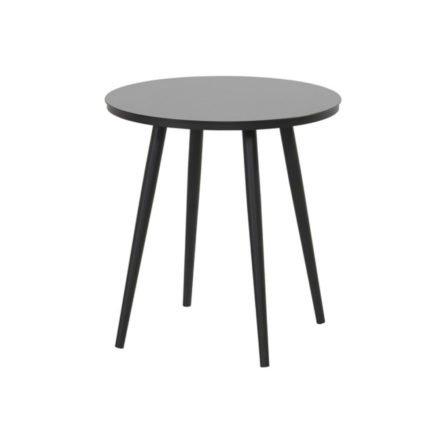 """Hartman """"Sophie Studio"""" Bistrotisch, Gestell Aluminium carbon black, Tischplatte HPL black"""