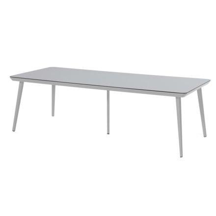 """Hartman """"Sophie Studio"""" Gartentisch, Gestell Aluminium misty grey, Tischplatte HPL misty grey, Größe 240 x 100 cm"""