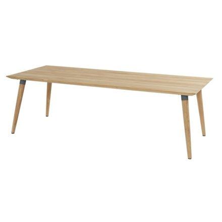 "Hartman ""Sophie Studio"" Gartentisch Teak, Gestell Teakholz, Tischplatte Teakholz, Gestell-Absetzung xerix, Maße 240x100 cm"