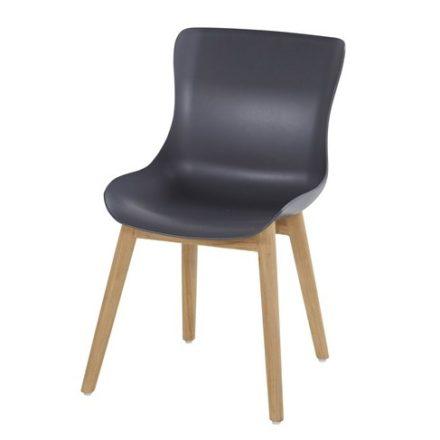"Hartman ""Sophie"" Dining Chair, Gestell Teakholz, Sitzschale Kunststoff xerix"