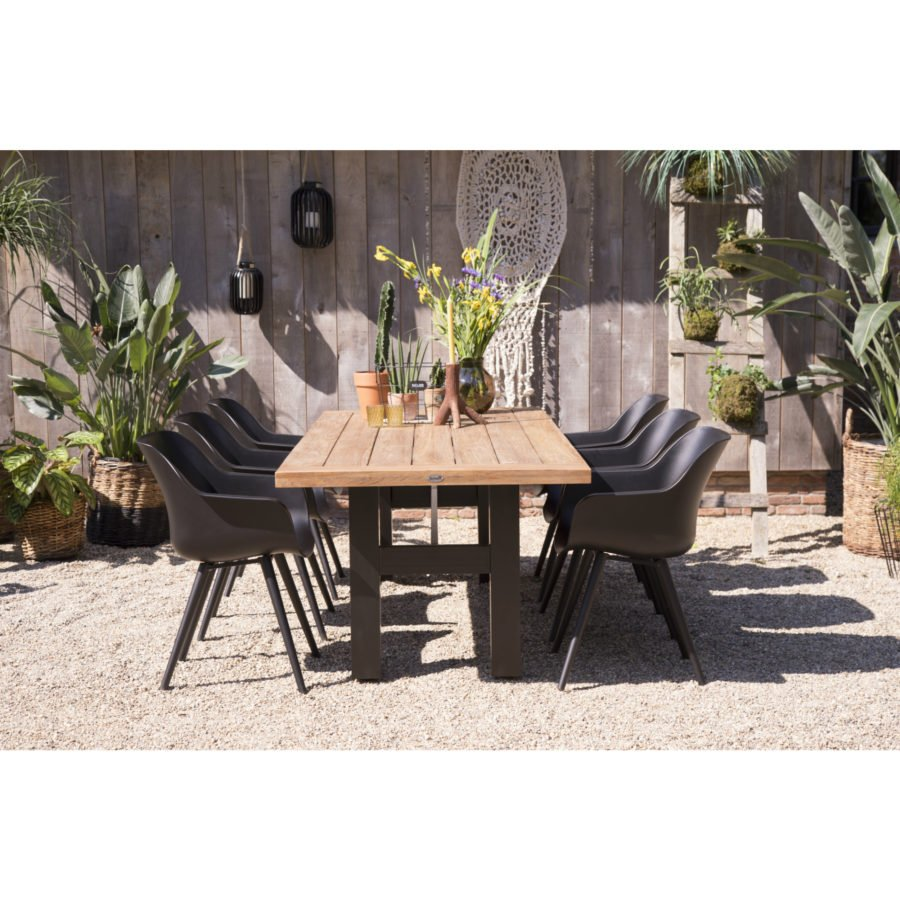 hartman gartenm bel set mit stuhl sophie studio und. Black Bedroom Furniture Sets. Home Design Ideas