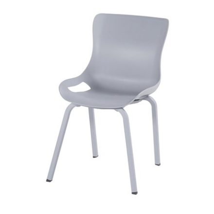 "Hartman ""Sophie Pro"" Dining Chair, Gestell Aluminium misty grey, Sitzschale misty grey"