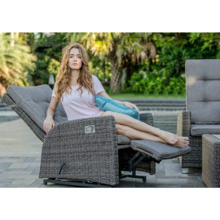 "Home Islands ""Ko Tao"" Relaxsessel, Gestell Aluminium, Sitz- und Rückenfläche Polyrattan"