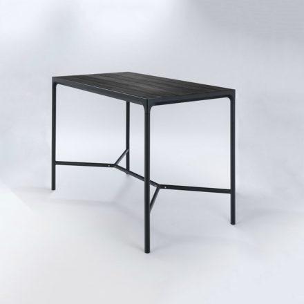"Houe Bartisch ""Four"" 160 x 90 cm, Aluminium schwarz"