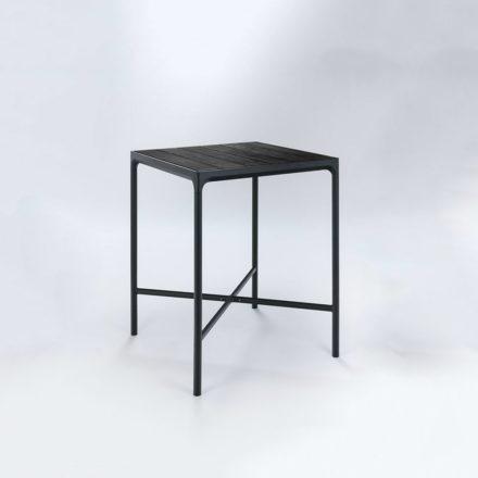 "Houe Bartisch ""Four"" 90 x 90 cm, Aluminium schwarz"