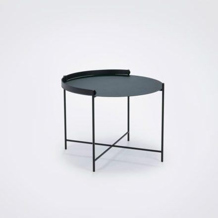 """Houe """"Edge"""" Beistelltisch kieferngrün/schwarz, Durchmesser 62 cm"""