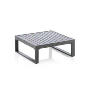 """Kettler """"Ocean Modular"""" Beistelltisch / Loungetisch, Aluminium anthrazit"""