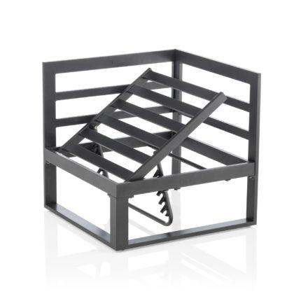 """Kettler """"Ocean Modular"""", Eckteil, Aluminium-Gestell anthrazit, Verstellmoeglichkeit"""