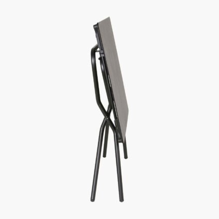 "Lafuma Klapptisch ""Anytime"", Größe 110x68 cm, Stahl schwarz, HPL mineral © LAFUMA MOBILIER - Pierrick Verny"