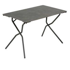 """Lafuma Klapptisch """"Anytime"""", Stahlgestell schwarz mit HPL-Tischplatte 110x68 cm (Abb. weicht ab)"""