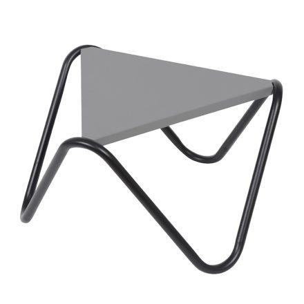"""Lafuma Beistelltisch """"Vogue"""" in der Farbe stone, Gestell: Stahl schwarz"""