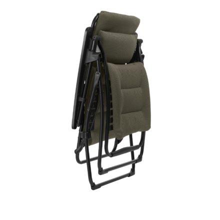 "Lafuma Relaxliege ""Futura Air Comfort"", Modell: LFM3110, Farbe: Taupe7057, zusammengeklappt"
