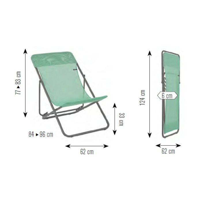 lafuma maxi transat liegestuhl. Black Bedroom Furniture Sets. Home Design Ideas