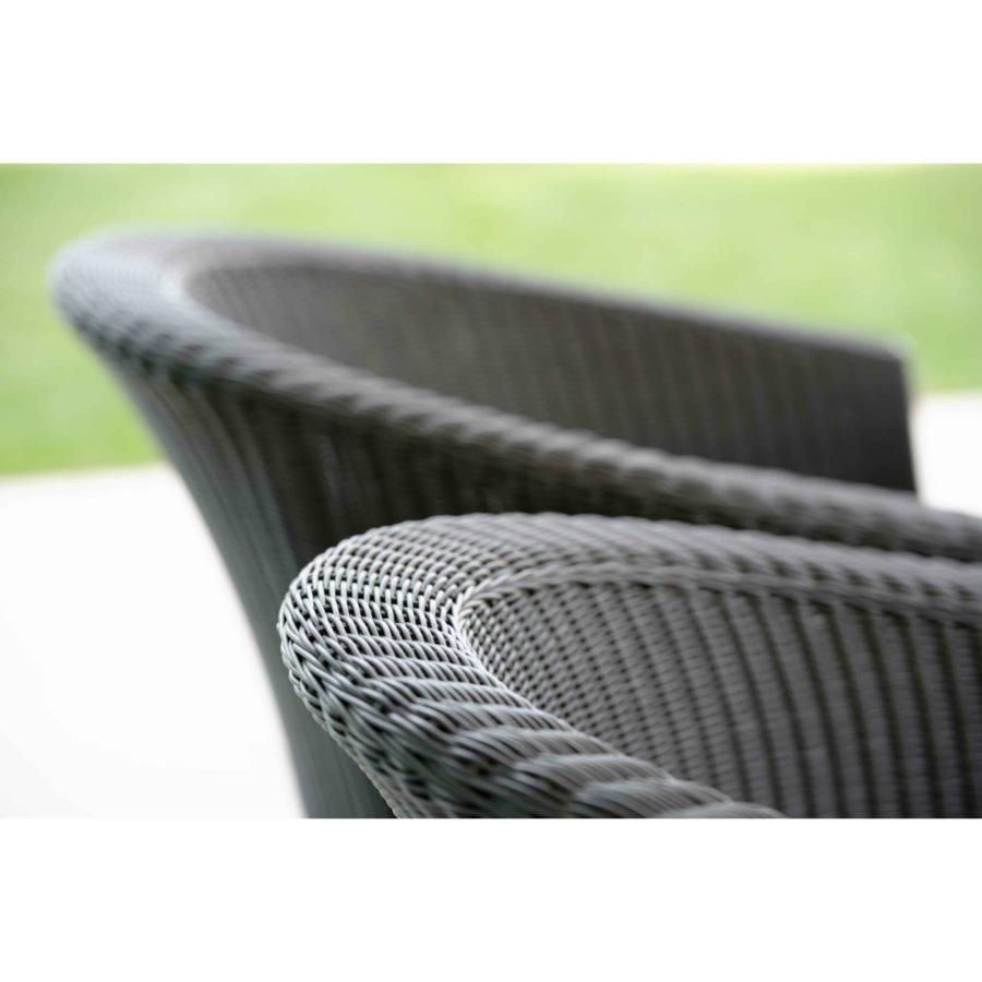stern gartenm bel set mit sessel juno und ausziehtisch aluminium hpl. Black Bedroom Furniture Sets. Home Design Ideas
